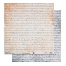 Бумага для скрапбукинга «Симфония», 30.5 × 32 см, 180 гм