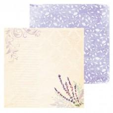Бумага для скрапбукинга «Веточка», 15.5 × 15.5 см, 180 г/м