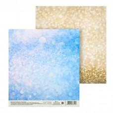 Бумага для скрапбукинга Shine, 15,5 × 15,5 см, 180 гр/м2