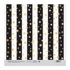 Бумага для скрапбукинга двусторонняя «Праздничное настроение»  20х20см, 180 г/м