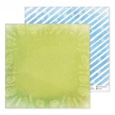 "Бумага для скрапбукинга ""Голубой узор"" 30,5х30,5см"
