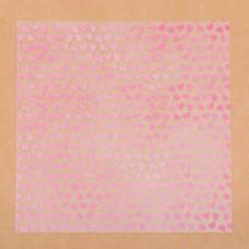 Ацетатный лист «Зефирная любовь», 20 × 20 см