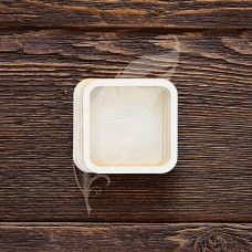 Заготовка для шейкера квадрат, 4 элемента из картона и 2 элемента из пластика,  6х6 см