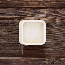 Заготовка для шейкера квадрат, 4 элемента из картона и 2 элемента из пластика,  7х7 см