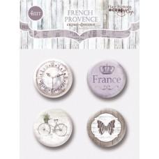 Скрапфишки 4шт. Набор French Provence от Scrapmir