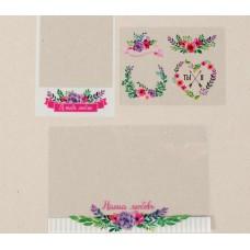 Набор ацетатных карточек «Наша любовь», 10 х 17,5 см