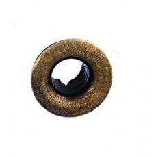 Люверсы металлические 10шт., отверстие 4,6мм, размер 7х10 мм, цвет бронзовый