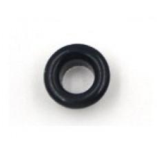 Люверсы металлические 10шт., 5х9 мм, цвет черный