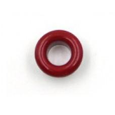 Люверсы металлические 10шт., 5х9 мм, цвет красный