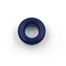 Люверсы металлические 10шт., 5х9 мм, цвет синий