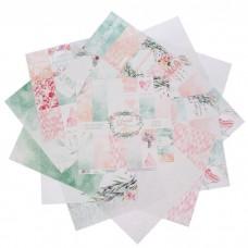 Набор бумаги для скрапбукинга «Любовь дарит крылья»12 листов 30,5 х 30,5 см, 180 г/м