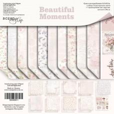 Набор двусторонней бумаги 30х30см Beautiful Moments 11шт от Scrapmir
