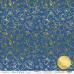 Набор двусторонней бумаги с золотым тиснением 30х30см Blue & Blush  от Scrapmir