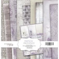 Набор односторонней скрапбумаги French Provence 10шт, 30х30см от Scrapmir