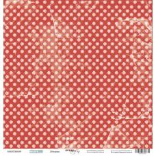 Бумага для скрапбукинга односторонняя Штурвал из коллекции Море 30х30см от Scrapmir