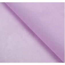 Бумага упаковочная тишью, сиреневый, 50 х 66 см, 10 шт. в упаковке