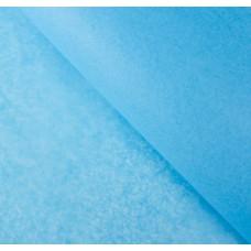 Бумага упаковочная тишью, ярко-голубая, 50 х 66 см, 10 шт. в упаковке