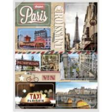 "Набор наклеек ""Paris-1"" (1 лист)"