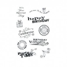 "Набор штампов ""Birthday"" (набор 10 элементов)"