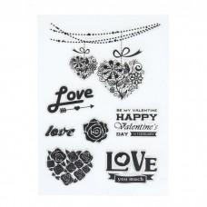 "Набор штампов ""Love"" (набор 7 шт.)"