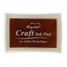 """Штемпельная подушка """"Шоколадная"""", Craft Ink Pad"""