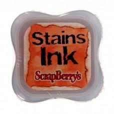 Чернила с эффектом цветовых пятен Stains lnk Оранжевый, scrapberry's