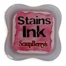 Чернила с эффектом цветовых пятен Stains lnk Розовый, scrapberry's