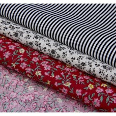 """Набор ткани для пэчворка """"Летнее настроение"""" (3 шт., размер 30*40 см)"""
