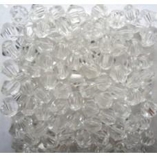 Бусина многогранная 12 мм, Цвет прозрачное стекло 1 шт.