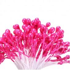 Тычинки розовые 50 шт.