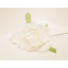 """Декор для творчества """"Пион"""", цвет белый, 1 шт."""