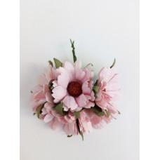 Цветок Ромашка, цвет розовый 4 см, 1 шт.