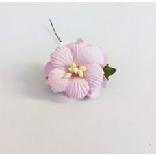 Декор для скрапбукинга Пион, 3,75 см, цвет розовый, 1 шт.