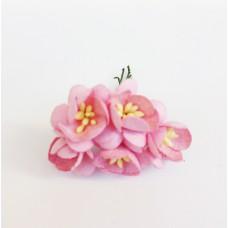 Цветок Вишни, цвет розовый 2,5 см,