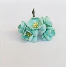 Цветок Вишни, цвет мятный 2,5 см,