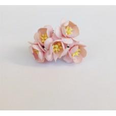 Цветок Вишни, цвет светло-розовый 2,5 см,