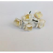 Цветок Вишни, цвет кремовый 2,5 см