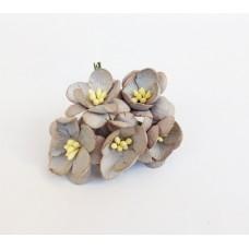Цветок Вишни, цвет дымчатый 2,5 см,