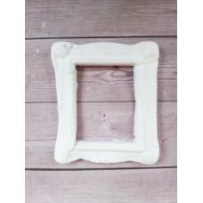 Рамка декоративная прямоугольная № 2 из полимерной глины