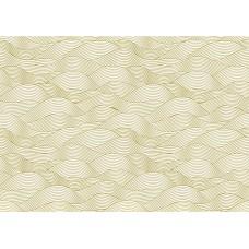 Калька с золотым рисунком SEA adventure- waves для шейкеров, разделителей и декора. Размер листа 21х29.7 см. Плотность 160 г/м.