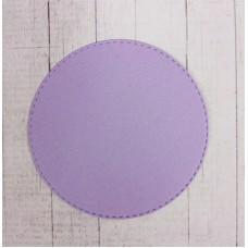 Вырубка Круг d=8см. Цвет сиреневый