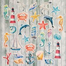 """Набор высечек """"Sea party"""" Monadesign"""