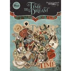 "Набор высечек для скрапбукинга 39 шт. ""Time to Dream"""
