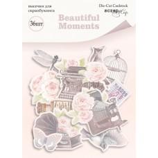 Набор высечек для скрапбукинга 36шт  Beautiful Moments от Scrapmir