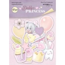 Набор высечек для скрапбукинга 47шт  Daddy's Princess от Scrapmir