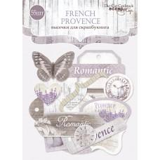 """Набор высечек для скрапбукинга 55 шт. """"French Provence"""""""