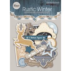 """Набор высечек для скрапбукинга 53 шт. """"Rustic Winter"""""""