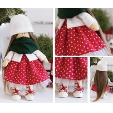 Интерьерная кукла «Эшли», набор для шитья. Высота 30 см.