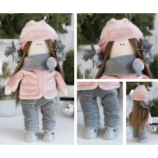 Интерьерная кукла «Лара», набор для шитья. Высота 30 см.