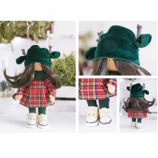 Интерьерная кукла «Лейн», набор для шитья. Высота 23 см.